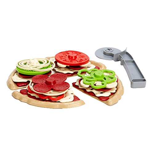 Toy Pizza Set by Eco Friendly Green Toys