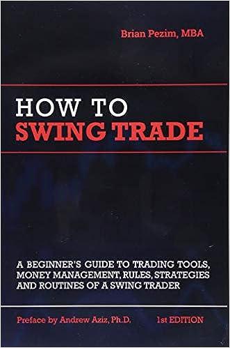 Amazon Com How To Swing Trade 9781726631754 Brian Pezim Andrew