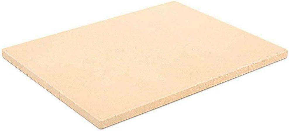 G.a HOMEFAVOR 37.5 cm x 30 cm Panel Rectangular de Cordierita y Piedra para Hornear Pizzas