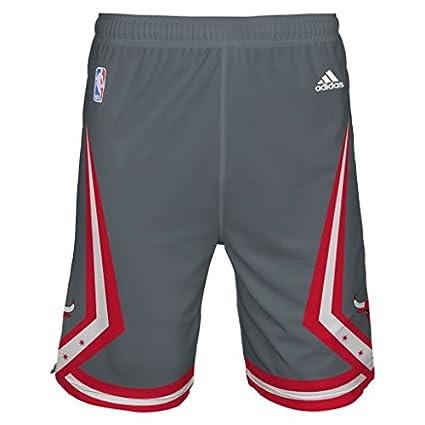 adidas Chicago Bulls Gris Juventud Orgullo Pantalones Cortos