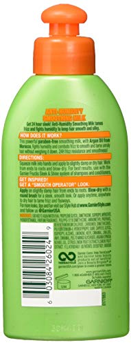 Garnier Fructis Style Anti-Humidity Smoothing Milk, All Hair Types, 5.1 oz. (Packaging May Vary) by Garnier (Image #2)