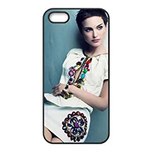 Natalie Portman Innocent funda iPhone 4 4S caja funda del teléfono celular del teléfono celular negro cubierta de la caja funda EOKXLKNBC11581