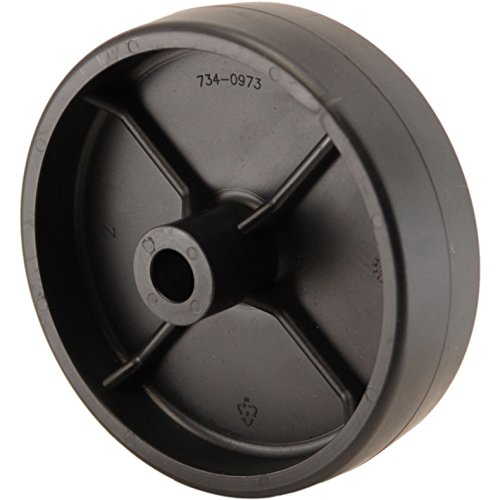 MTD 734-0973 Heavy Duty Deck Wheel with Metal - Bushings Mtd