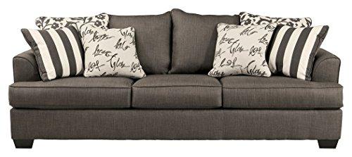 Wondrous Ashley Furniture Signature Design Levon Sleeper Sofa Queen Memory Foam Mattress Charcoal Gray Download Free Architecture Designs Photstoregrimeyleaguecom