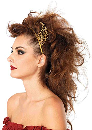 Viking Costumes Woman - Leg Avenue Women's Pegasus Headband, Gold, One