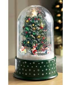 musical snowing christmas dome
