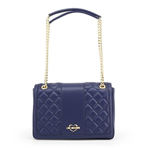 Moschino Quilted Satchel Women��s Borsa Pu Blue Nappa Love Cq41ZwFdq