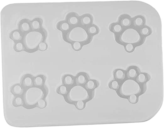 Kitten Claw Cabochon Silicone Mold Mould For Epoxy Resin DIY Pendent Crafts