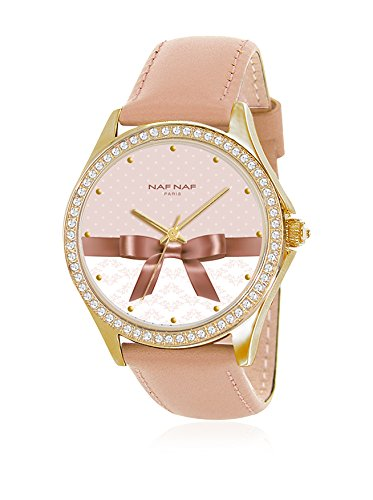 Naf Naf Reloj de Cuarzo Woman Naf Naf BC Rd Fantaisie Divers 36 mm: Amazon.es: Relojes
