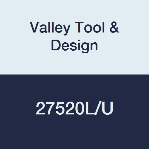 Valley Tool & Design 27520L/U Push Rod, 5/16'' Diameter, 48'' Length, Steel Plated with A Zinc