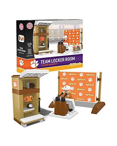 Oyo Sportstoys NCAA Clemson Tigers Locker Room Set Minifigur