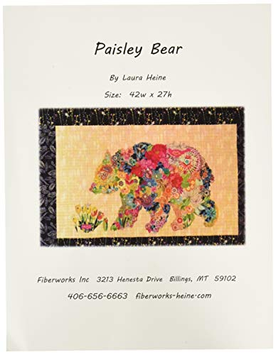 Fiberworks LHFWPB Paisley Bear Pattern (Paisley Bear)