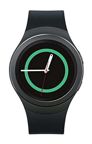 Samsung Gear S2 Smartwatch 52mm Stainless Steel AT&T Black Plastic SAMSUNG GEAR S2 BLACK