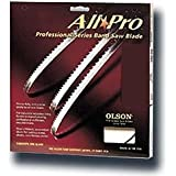 Olson Saw APG70870 3/16 by 0.025 by 70-1/2-Inch All Pro PGT Band 10 TPI Regular Saw Blade
