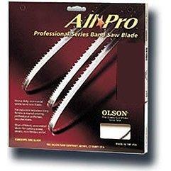 Olson Saw APG70823 3/16 by 0.025 by 123-Inch All Pro PGT Band 10 TPI Regular Saw Blade by OLSON SAW