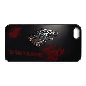 Popular TV Series Game of Thrones Unique Design Iphone 5,5s Case Cover- Best Protective Hard Plastic cover