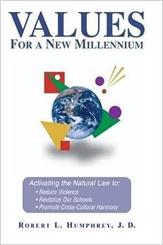 Book Values for a New Millennium by Humphrey, Robert L. (July 1, 1992)
