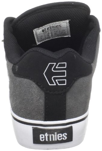 Etnies Men's Fader Vulc Skate Shoe Black (570 , Black/Grey)