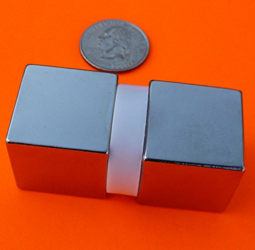 "Used, Super Strong Neodymium Magnet N52 1"" Cube Permanent for sale  Delivered anywhere in USA"