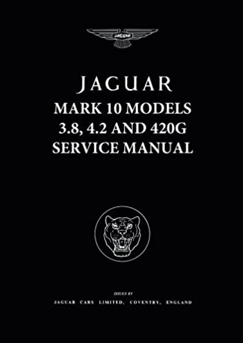 jaguar mk10 420g 3 8 4 2 wsm official workshop manuals rh amazon com