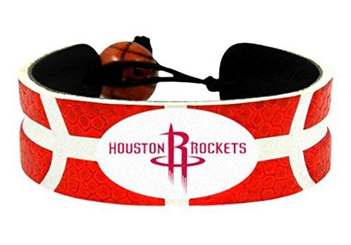 Keychain Team Color Basketball (GameWear NBA Houston Rockets Team Color Basketball Bracelet)