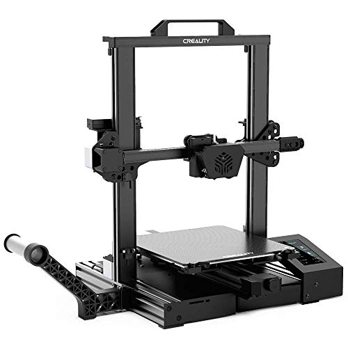 Creality New CR-6SE 3D Printer Upgraded Design with Silent Motherboard, New Nozzle and Extruder Structure, Resume Printing and HD Color Touch Screen