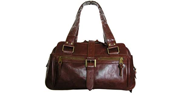 3b3e05c5ca Amazon.com   Mulberry Bag Leather Brown Coffee   Cosmetic Tote Bags   Beauty