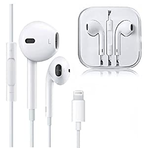 Earphones,with Microphone Earbuds Stereo Headphones and Noise Isolating Headset Made Compatible with iPhone XS/XR/X/8/7 Earphones