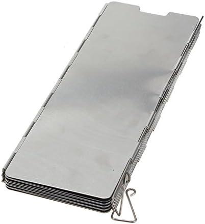 dcolor aluminio – Paravientos calor Reflector plegable camping gas/gasolina eléctrica