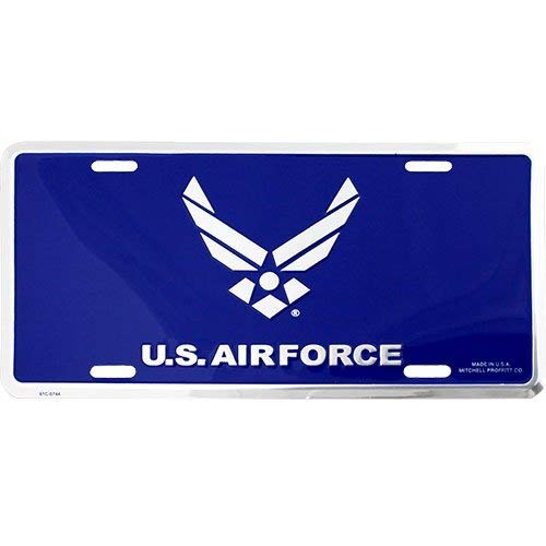 - U.S. Air Force Hap Arnold New Wing License Plate