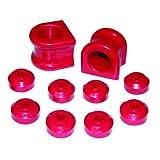 Prothane 4-1138 Red 34 mm Front Sway Bar Bushing Kit