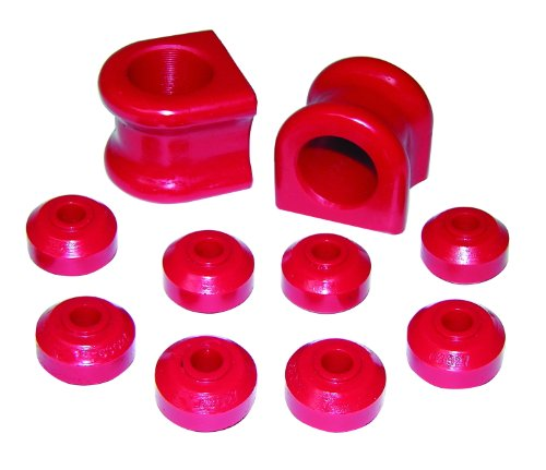 Bushing Urethane Grease (Prothane 4-1138 Red 34 mm Front Sway Bar Bushing Kit)