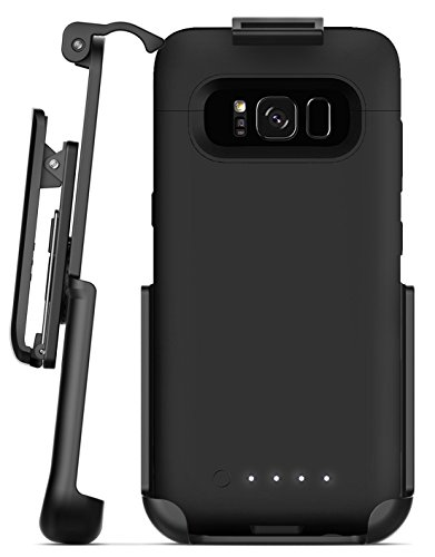Encased Belt Clip Holster Compatible w/Mophie Juice Pack Battery Case - Samsung Galaxy S8 Plus (case not Included)