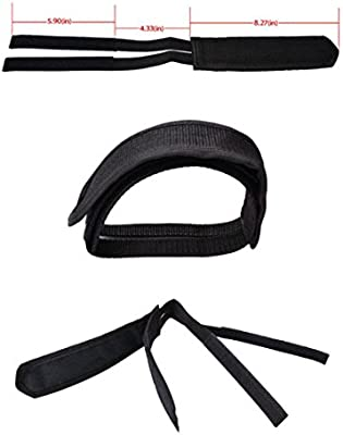 New SBYURE 1 Pairs Bicycle Pedal Straps Pedal Toe Clips Straps Tape Slip Doub..