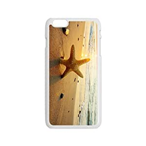 The Starfish And Beach Hight Quality Plastic Case for Iphone 6