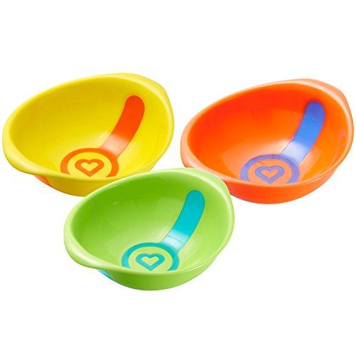 Munchkin White Toddler Bowls Count