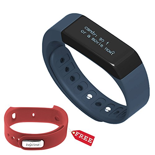Toprime174 Wireless Bluetooth Pedometer Wristband
