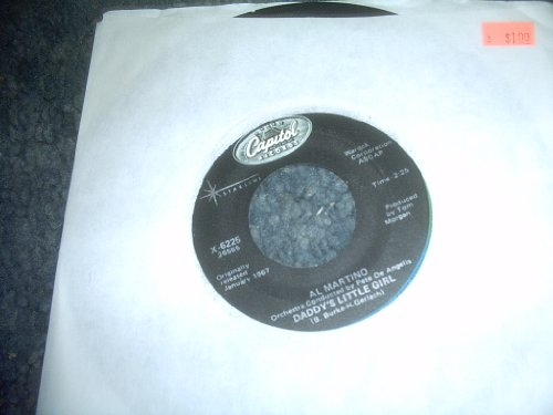 Daddy's Little Girl-i Love You More and More Every Day 45 Rpm Record