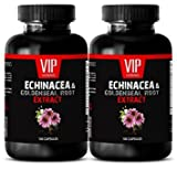 Product review for metabolism booster pills - Echinacea & Goldenseal Root 300MG - immune booster - 2 Bottles (200 Capsules)