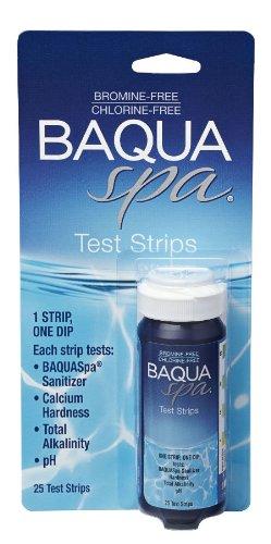 (BAQUA Spa® 4-Way Test Strips)