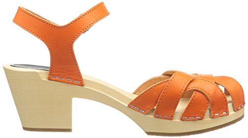 Women's swedish Platform Orange High hasbeens Sandal Pearl Sp5gw1qnxp