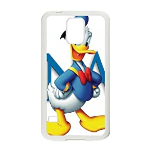 Samsung Galaxy S5 Cell Phone Case White Donald Duck S0399911