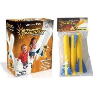 Stomp Rocket Junior Glow Kit with Extra Jr. Glow Rocket (Stomp Rock)