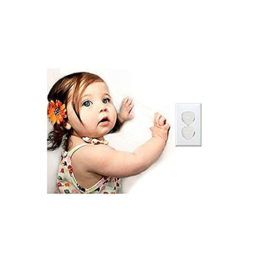 Outlet Covers - Baby Proofing Electrical Outlet Plug Covers For Kids Safety,Baby Child Proof Electrical Protector Safety Caps,Sturdy Childproof Socket Covers For Home & OfficeProtect Toddler (32 Pack) by Alysontech (Image #4)