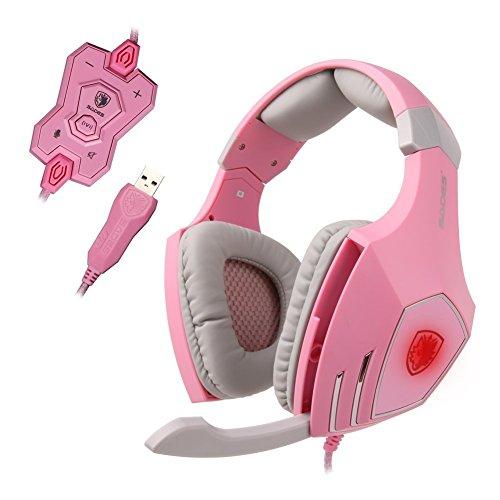 SADES A60 Headphones Sensitivity Noise Canceling
