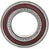 ORS 6204 2RS C3 Deep Groove Ball Bearing, Single Row, Double Sealed, Pressed Steel Cage, C3 Clearance, ABEC 1 Precision, Metric, 20 mm Bore, 47 mm OD, 14 mm Width, 9333 rpm Maximum Rotational Speed, 1479 lbf Static Load Capacity, 2875 lbf Dynamic Load Capacity