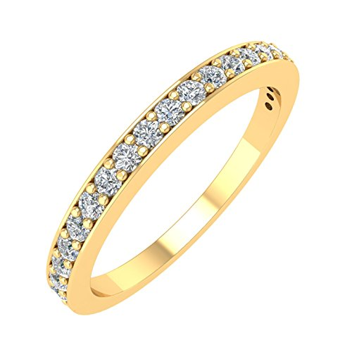 ing Diamond Band Ring (1/4 Carat) - IGI Certified ()