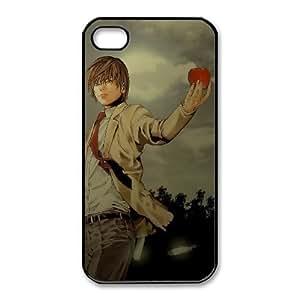 iphone4 4s phone case Black Death Note SSG9118254