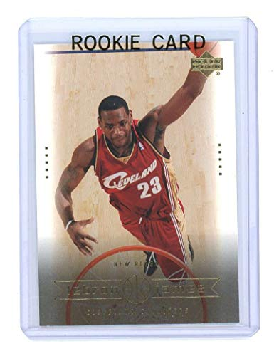 Upper Deck 2003 Mint - 2003 Upper Deck #28 New Reign Lebron James Rookie Card - Mint Condition Ships in a Brand New Holder