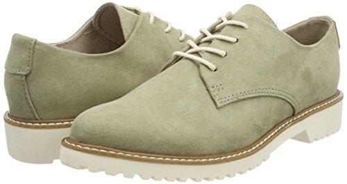 Verde De Mujer salvia Oxford Zapatos Marco 23755 Cordones Tozzi Para qxH6BvT6w